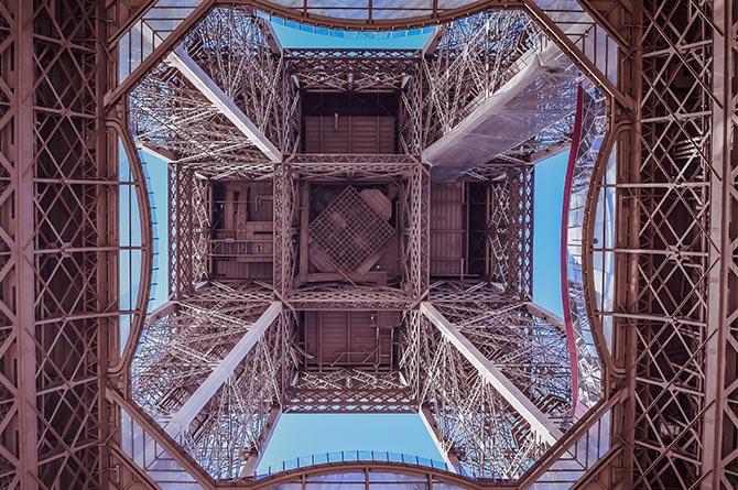 discover, vue de la Tour Eiffel