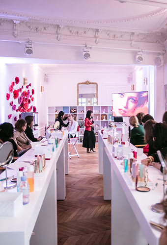 Clarins press event