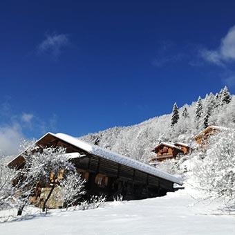 chalet lors d'un séminaire au ski