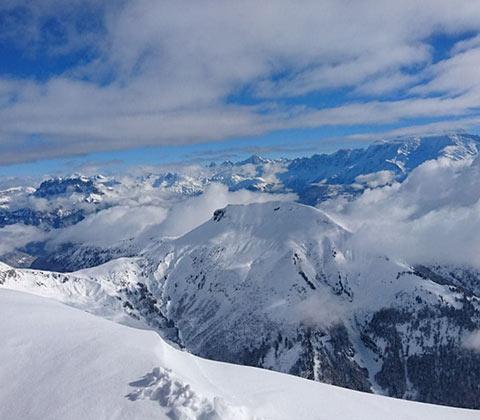 La Clusaz, destination du séminaire au ski