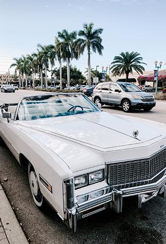 voiture à Miami