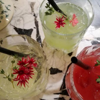 Cocktails lors ouverture boutique Dyptique à Paris