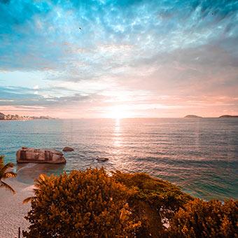plage au Brésil