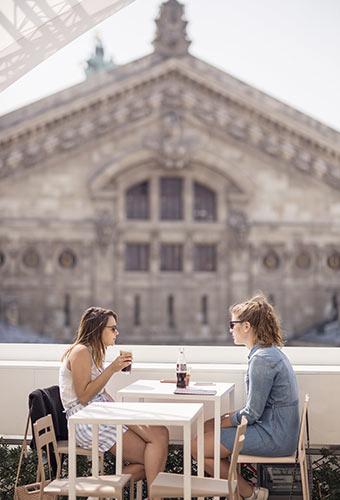 rooftop des Galeries Lafayette
